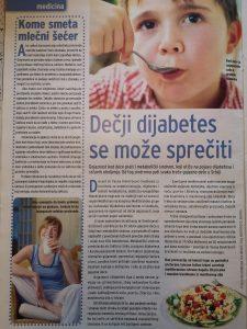 deciji dijabetes