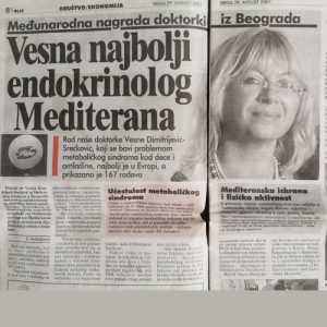 vesna najbolji endokrinolog mediterana